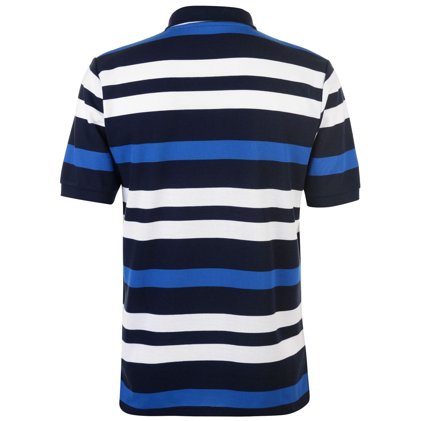 Lonsdale-Mens-Stripe-Polo-Shirt-Classic-Fit-Tee-Top-Short-Sleeve-Button-Placket thumbnail 20