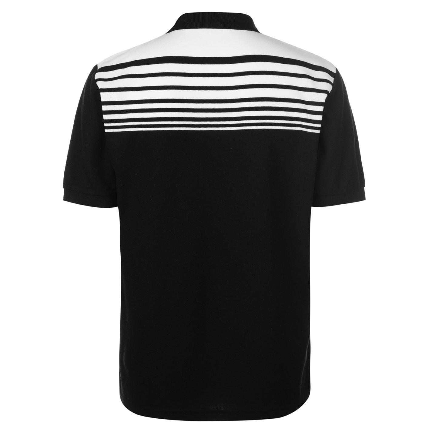 Lonsdale-Mens-Stripe-Polo-Shirt-Classic-Fit-Tee-Top-Short-Sleeve-Button-Placket thumbnail 23