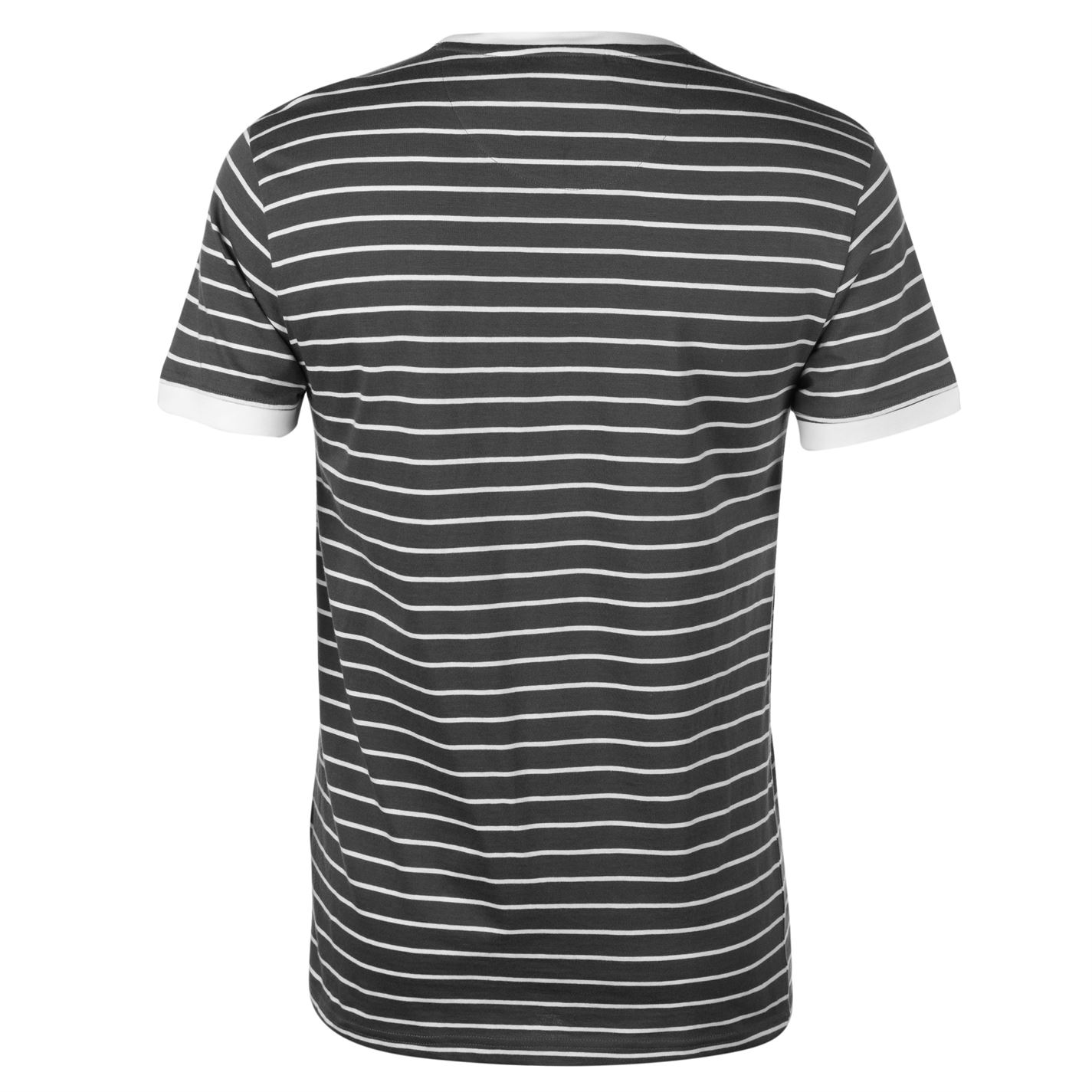 Pierre-Cardin-Mens-Stripe-Ringer-T-Shirt-Crew-Neck-Tee-Top-Short-Sleeve-Cotton thumbnail 6