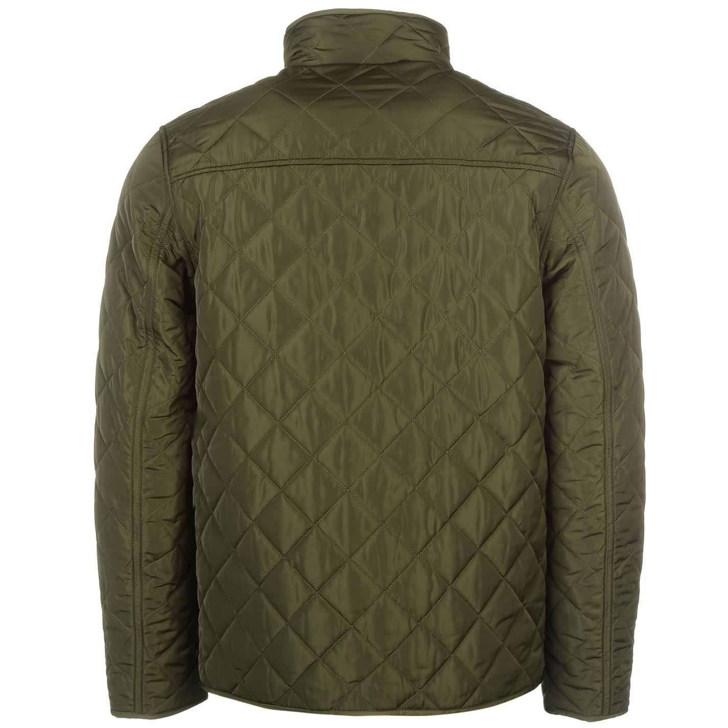Mens-Firetrap-Kingdom-Jacket-Quilted-Long-Sleeve-New thumbnail 13