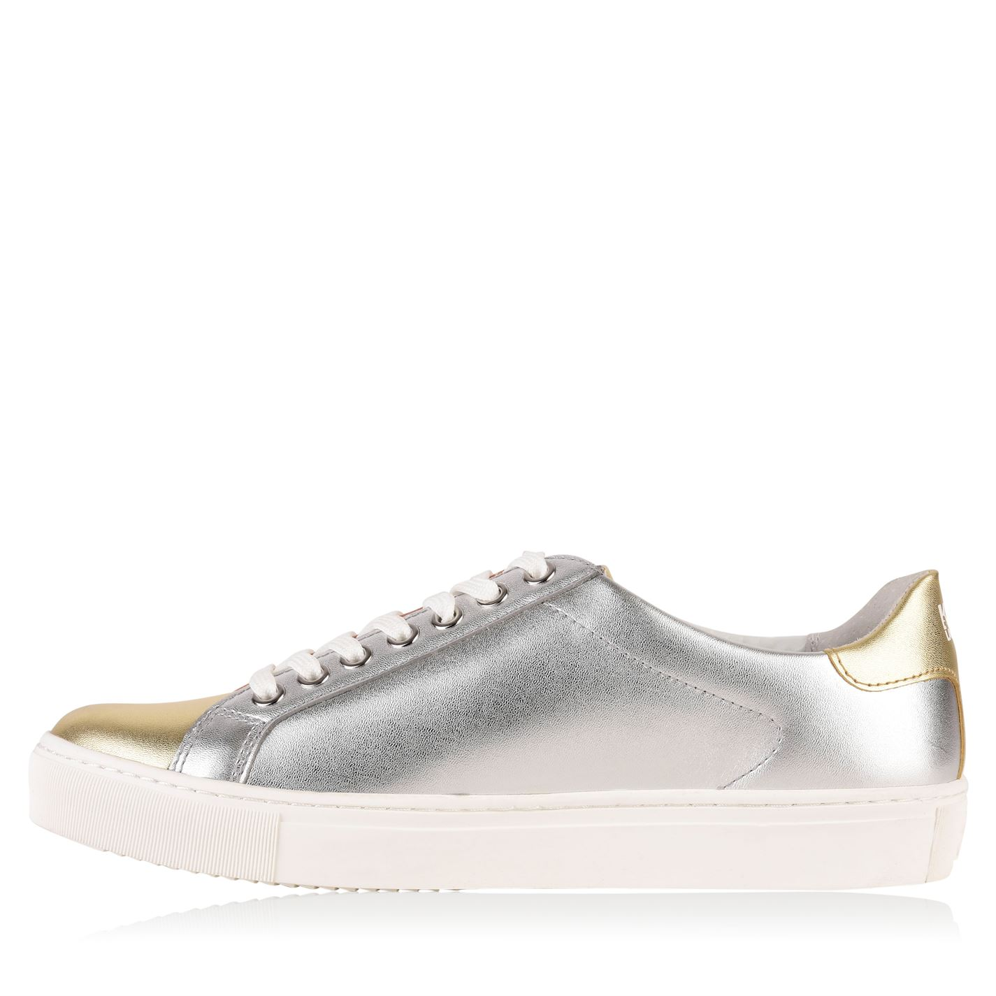 Womens KARL LAGERFELD Iconic Iconic Iconic Low Top Trainers Lace Up New fa356f