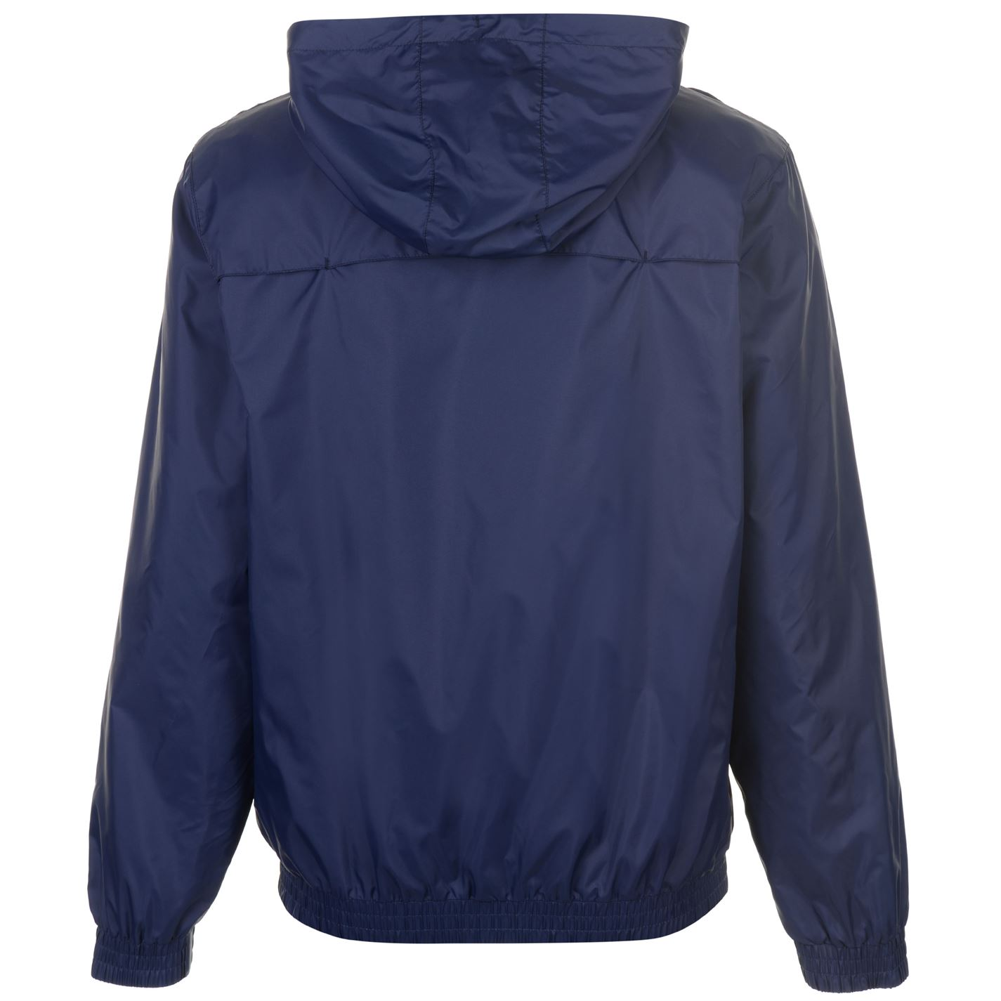 b9af26e4f344 Everlast Mens Geo Rain Jacket Coat Top Long Sleeve Breathable ...