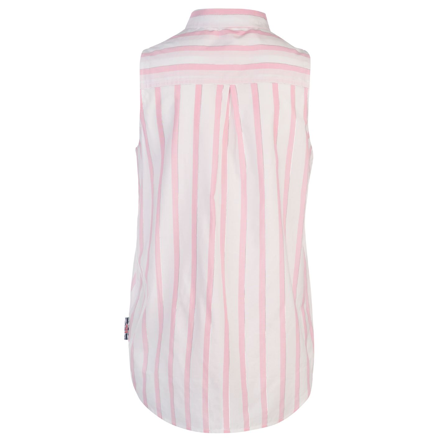 Lee Cooper Sleeveless Shirt Ladies Everyday Lightweight Button