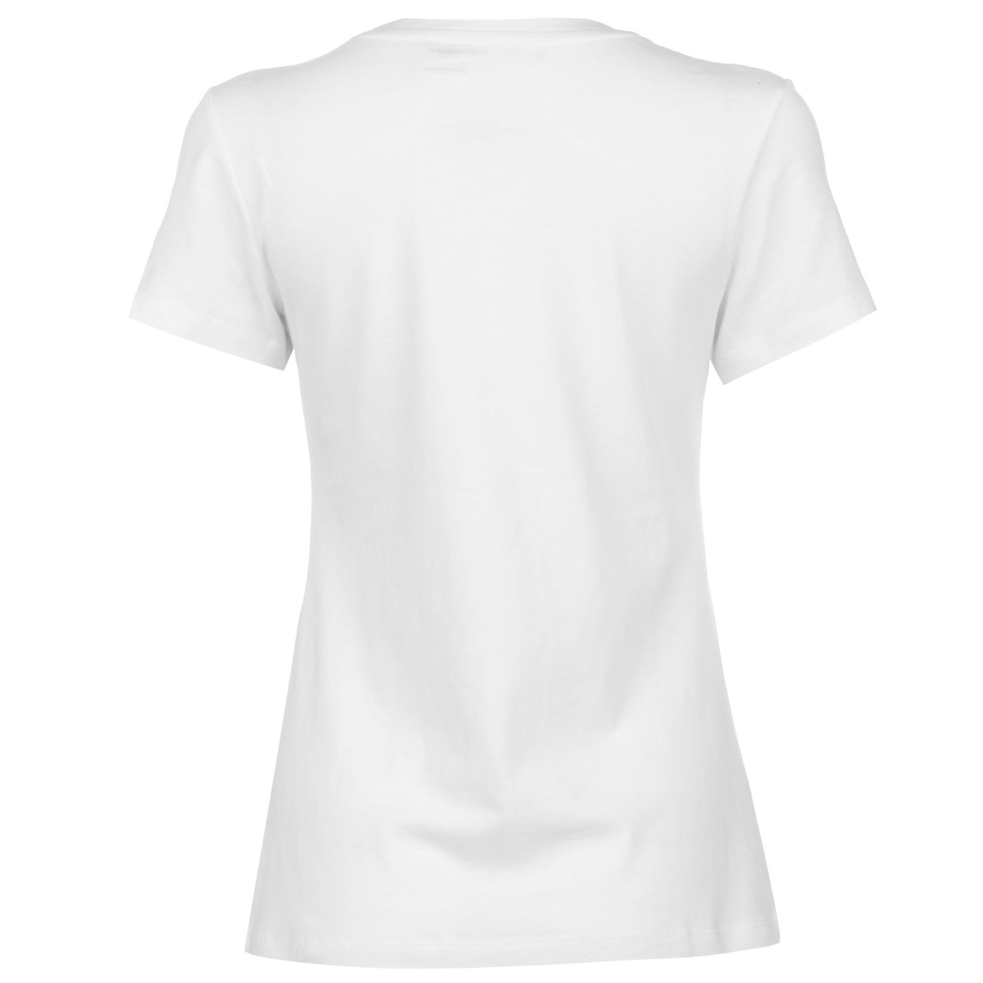 Womens-Calvin-Klein-Core-Slim-T-Shirt-Crew-Neck-Short-Sleeve-New thumbnail 6