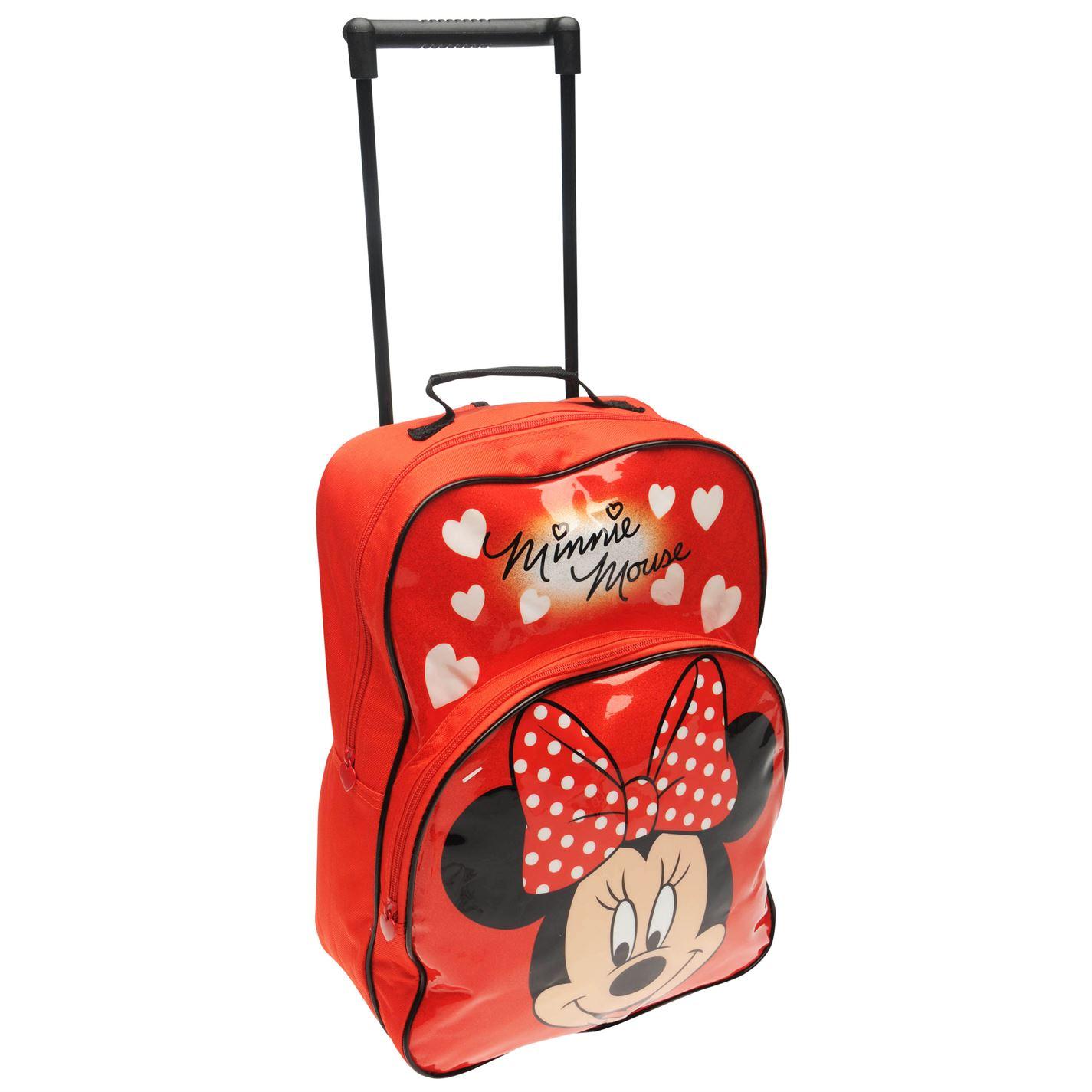 Character Unisex Kids Girls Trolley Bag Travel Wheels Extendable ... 66de658cb