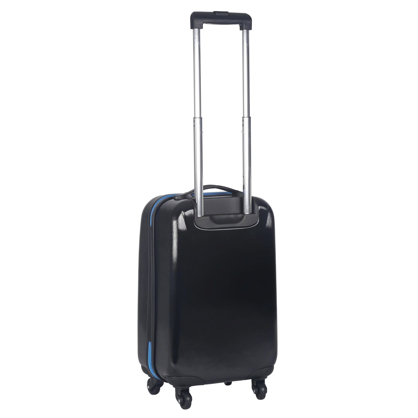 3e21d9a9116 NUFC Hard Suitcase Football Case Wheeled Travel Trolley Luggage Bag ...