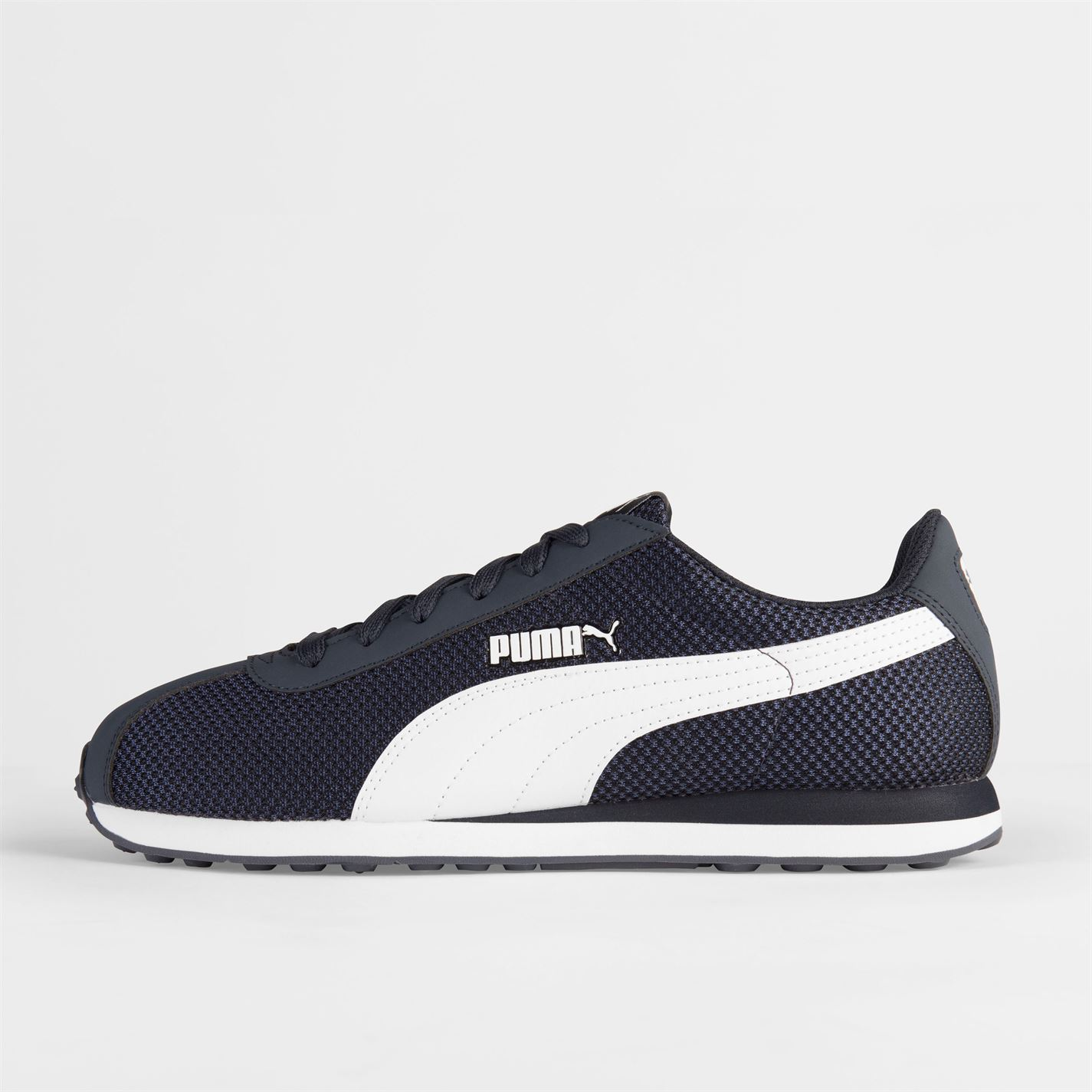 Puma-Mens-Gents-Turin-Mesh-Trainers-Shoes-Laces-Fastened-Footwear thumbnail 9