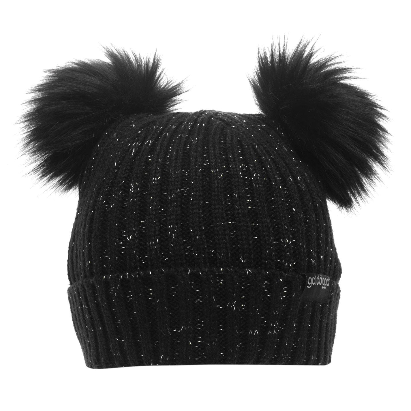 2c06301a81c0d Golddigga-Rainer-Hat-Girls-Beanie-Glitter-Knitwear thumbnail 4