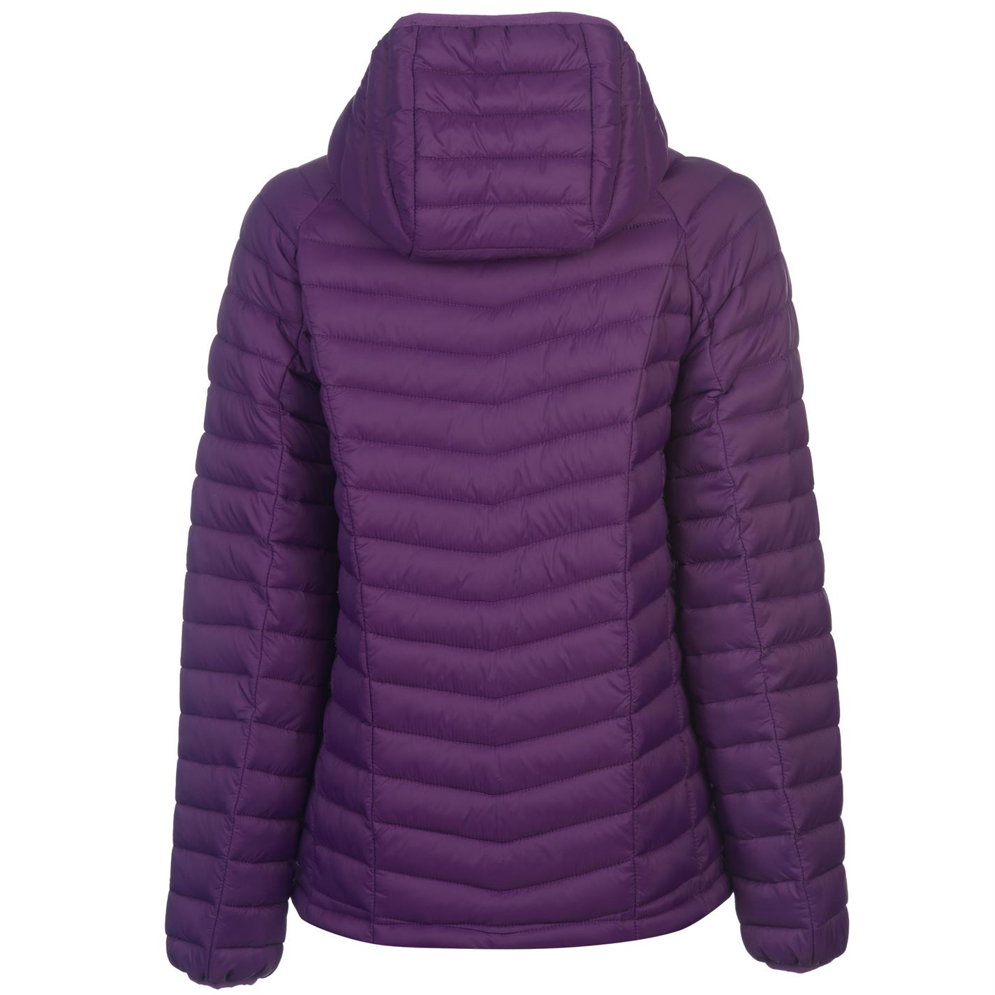 42d16059b Details about Karrimor Womens Hot Crag Insulated Jacket Puffer Coat Top  Long Sleeve Chin Guard