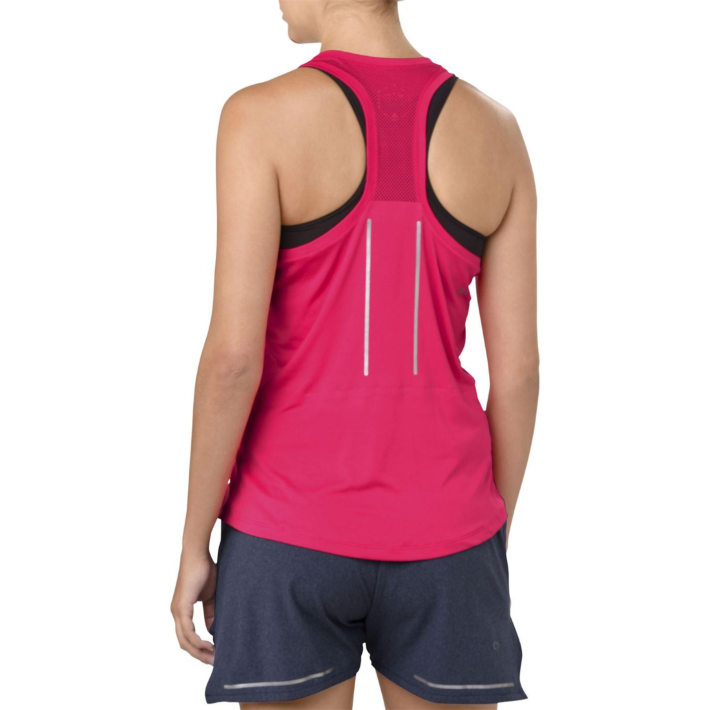 Asics Womens LITE SHOW SHOW SHOW TANK Performance Vest Tank Top b3f0ba