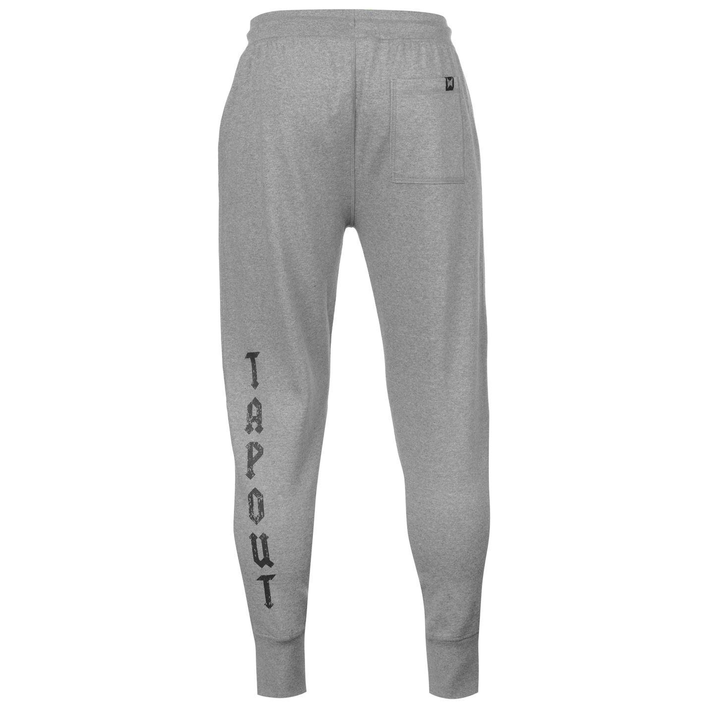 389ab6f96ce Tapout Mens Core Joggers Jersey Jogging Bottoms Trousers Pants ...
