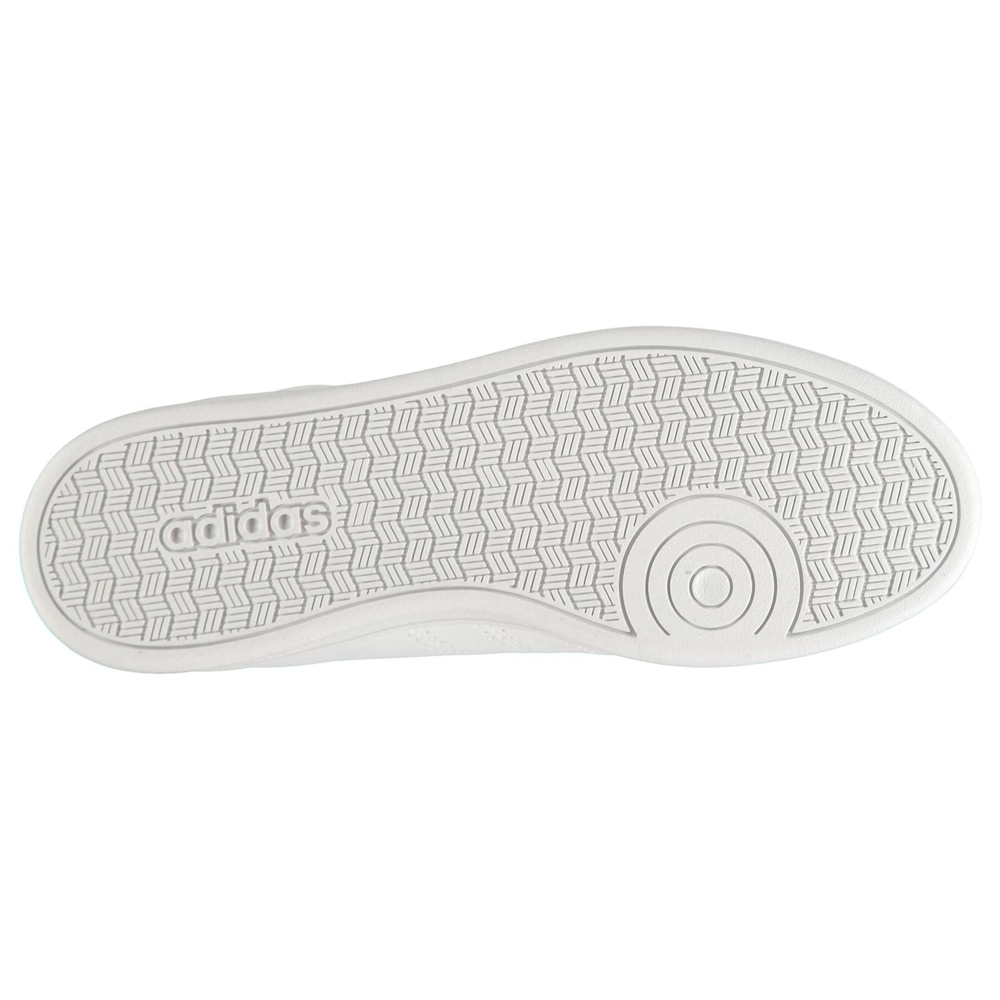 bajas Adidas de y blanco deporte mujer Zapatillas Advantage Qt negro de para qxTEwwO
