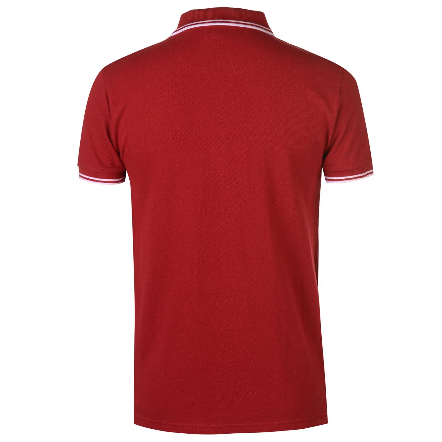 VOI-Mens-Side-Logo-Polo-Shirt-Slim-Fit-Tee-Top-Short-Sleeve-Lightweight-Cotton thumbnail 7