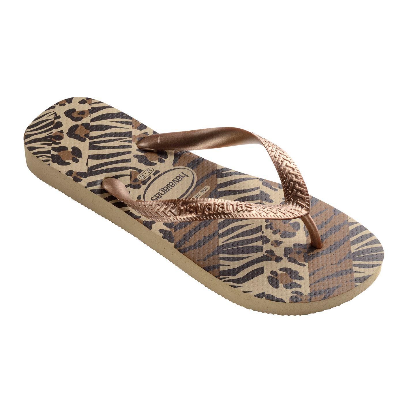 Havaianas Womens Top Animal Flip Flops  Ebay-9399