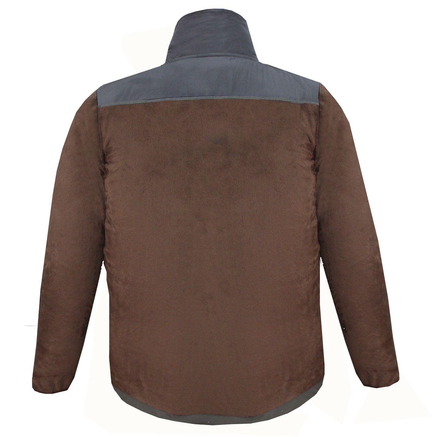 Lee-Cooper-Mens-Teddy-Fleece-Jacket-Full-Zip-Top-Coat-Sweatshirt-Jumper-Warm thumbnail 14