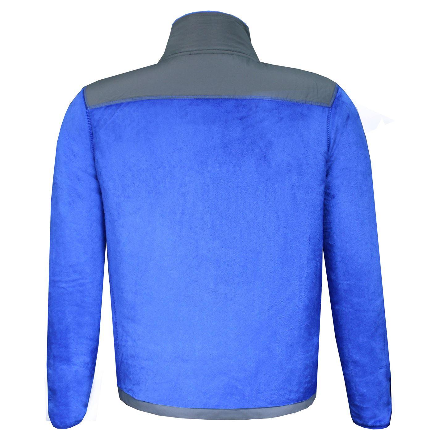 Lee-Cooper-Mens-Teddy-Fleece-Jacket-Full-Zip-Top-Coat-Sweatshirt-Jumper-Warm thumbnail 20