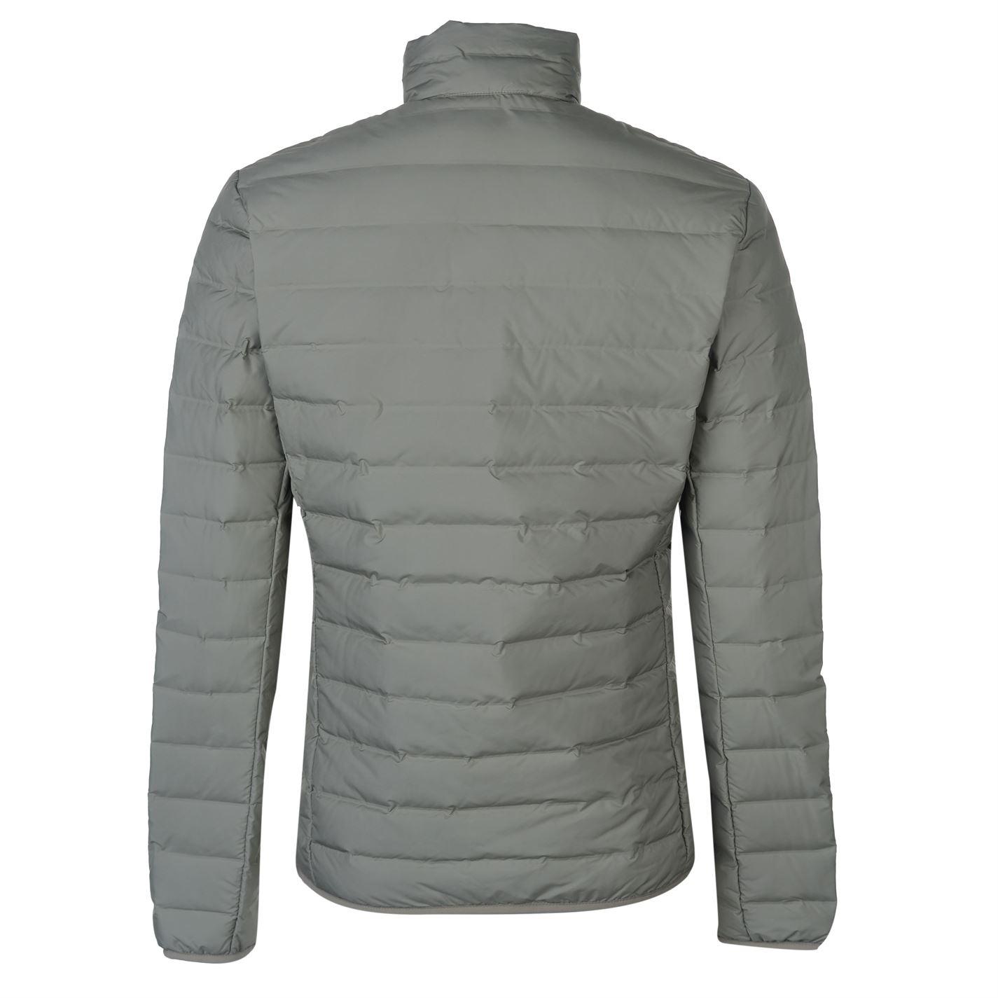 e975d39e adidas Mens Varilite Jacket Puffer Coat Top Long Sleeve Chin Guard ...