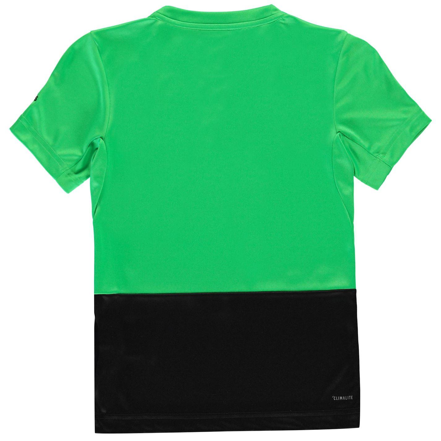 bd8f51e46 adidas Sport Activity Colour Block T Shirt Youngster Boys Short ...