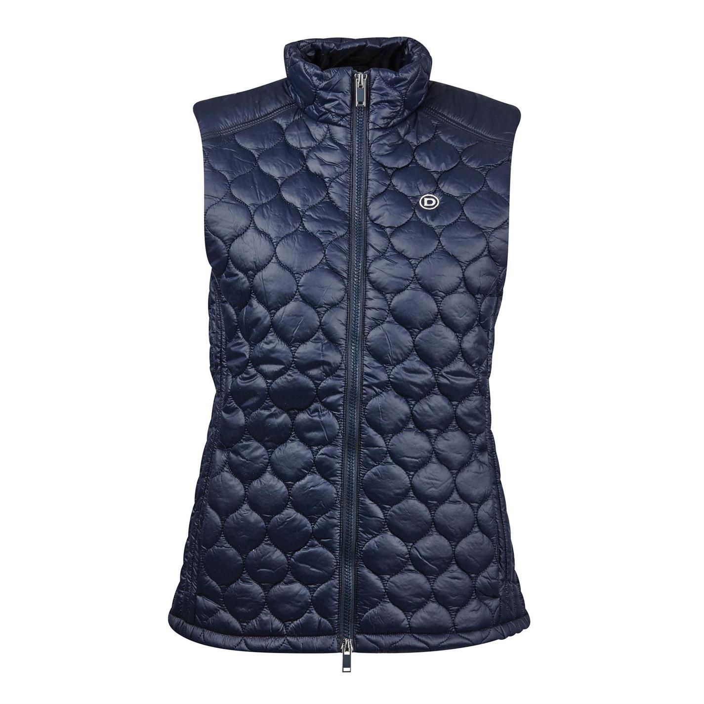 Zip Sapia Mouwloze Vest Dublin Navy Gilet Dames mouwloze jas 7Pqn6z
