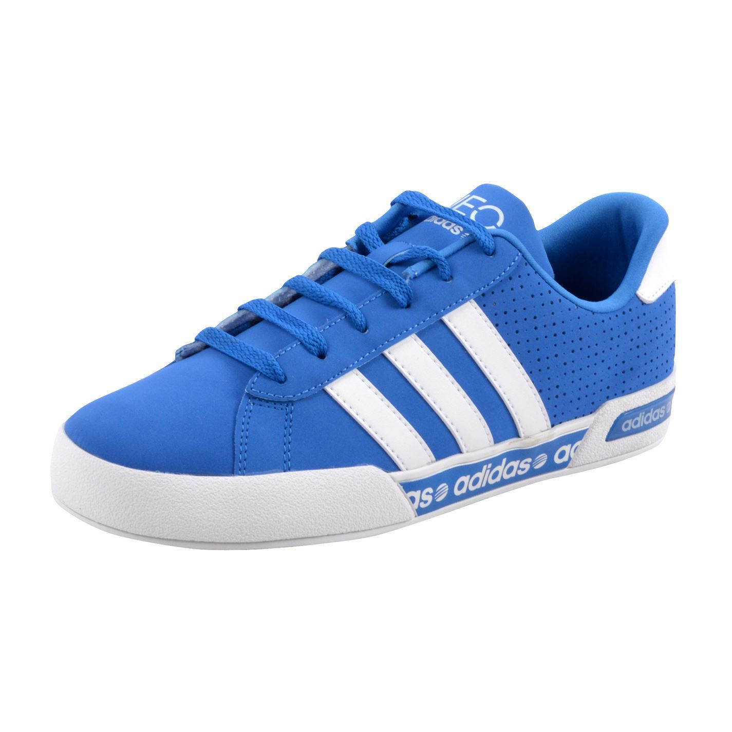 Adidas Neo Daily Mono Front Trainers Pumps Running Running Running Turnschuhe Lace Up Gents Mens 497262