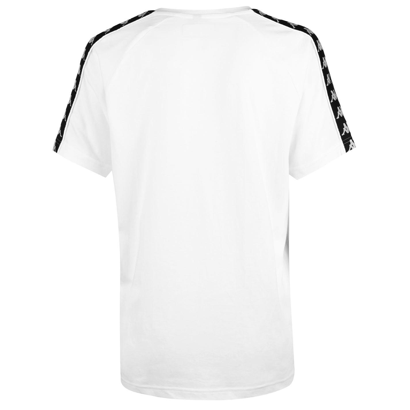 82219aec Womens Kappa Banda Coen Slim T Shirt Crew Neck Short Sleeve New | eBay