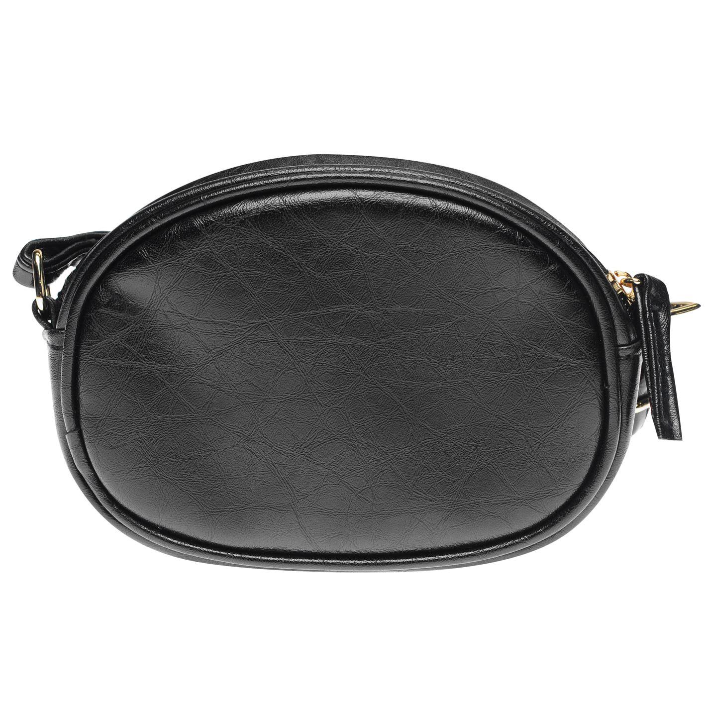 Womens-Glamorous-Lion-Shoulder-Bag-Zip-New thumbnail 4