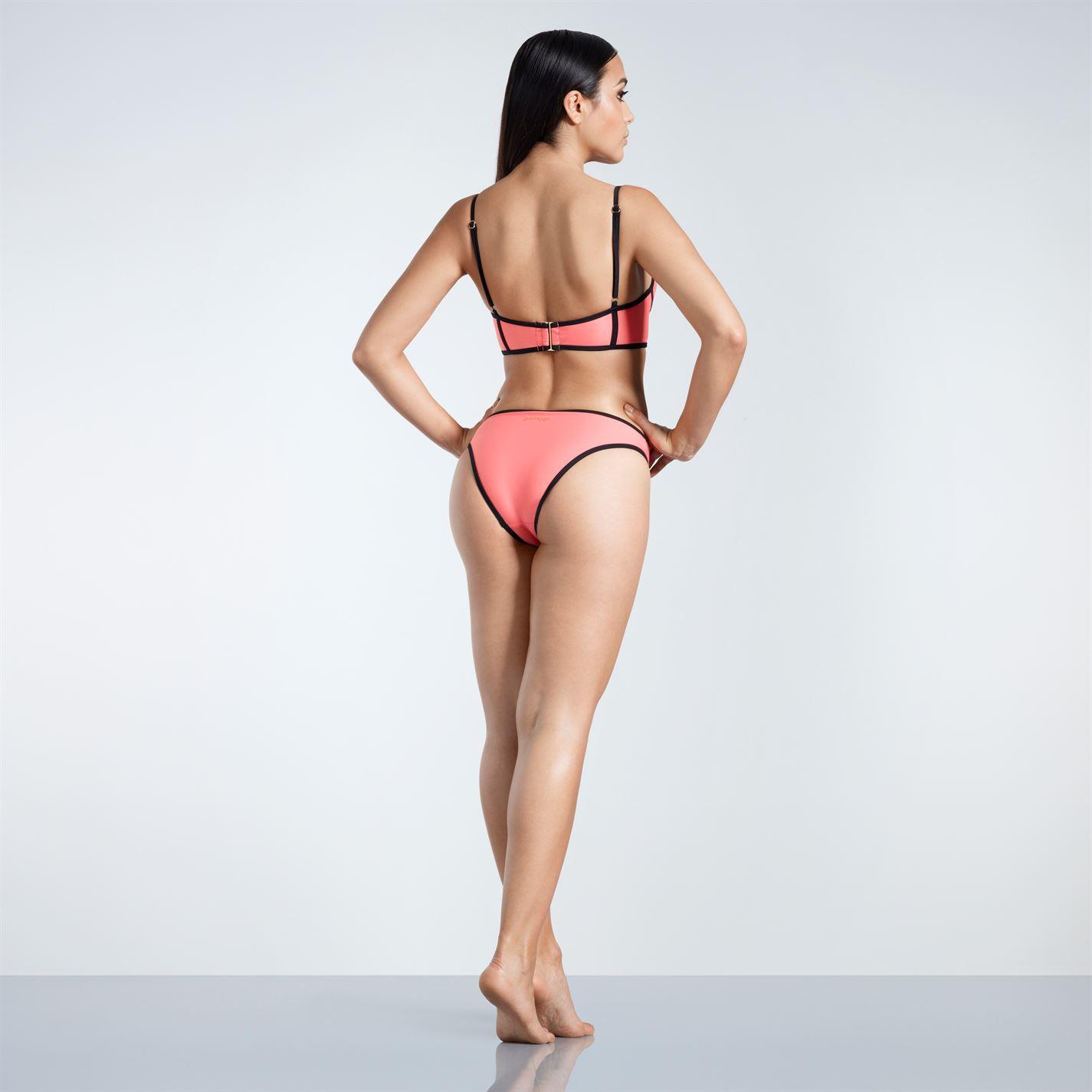 ae3c00ccda Golddigga Long Line Bikini Bottoms Ladies Briefs Stretch Colour ...