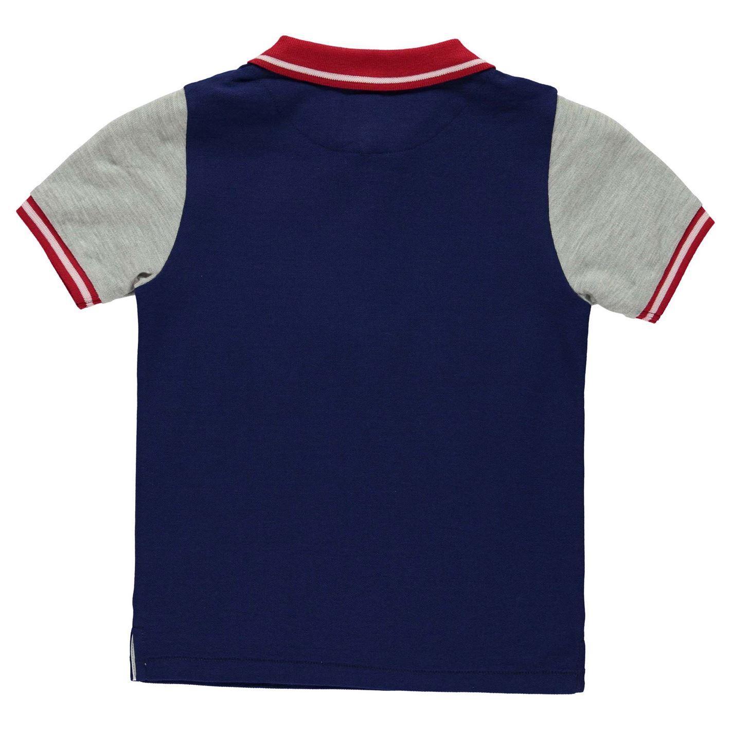 7f6f4e08 Firetrap Kids Polo Shirt Infants Classic Fit Tee Top Short Sleeve ...