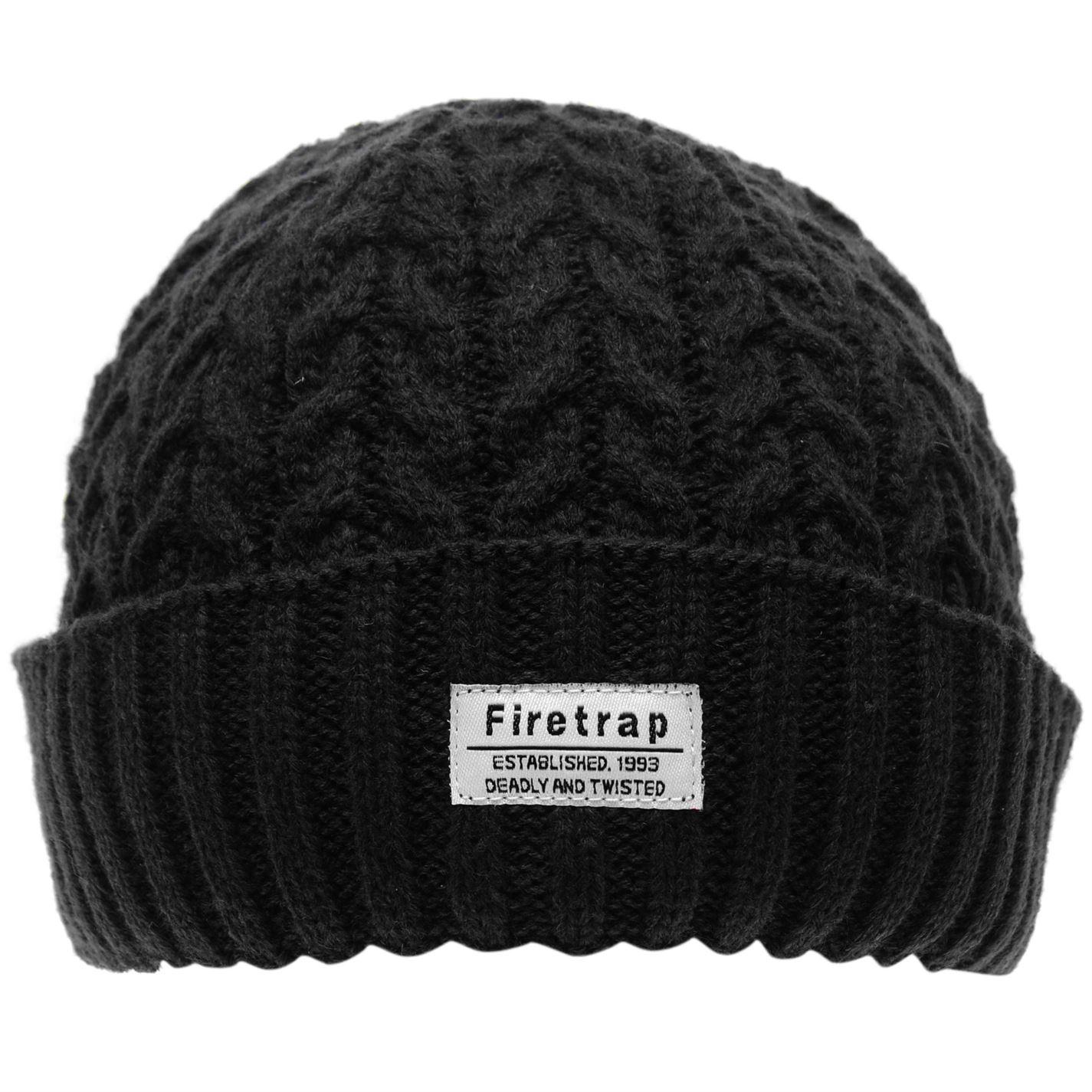 Mens-Firetrap-Fisherman-Hat-Beanie-Warm-New thumbnail 8
