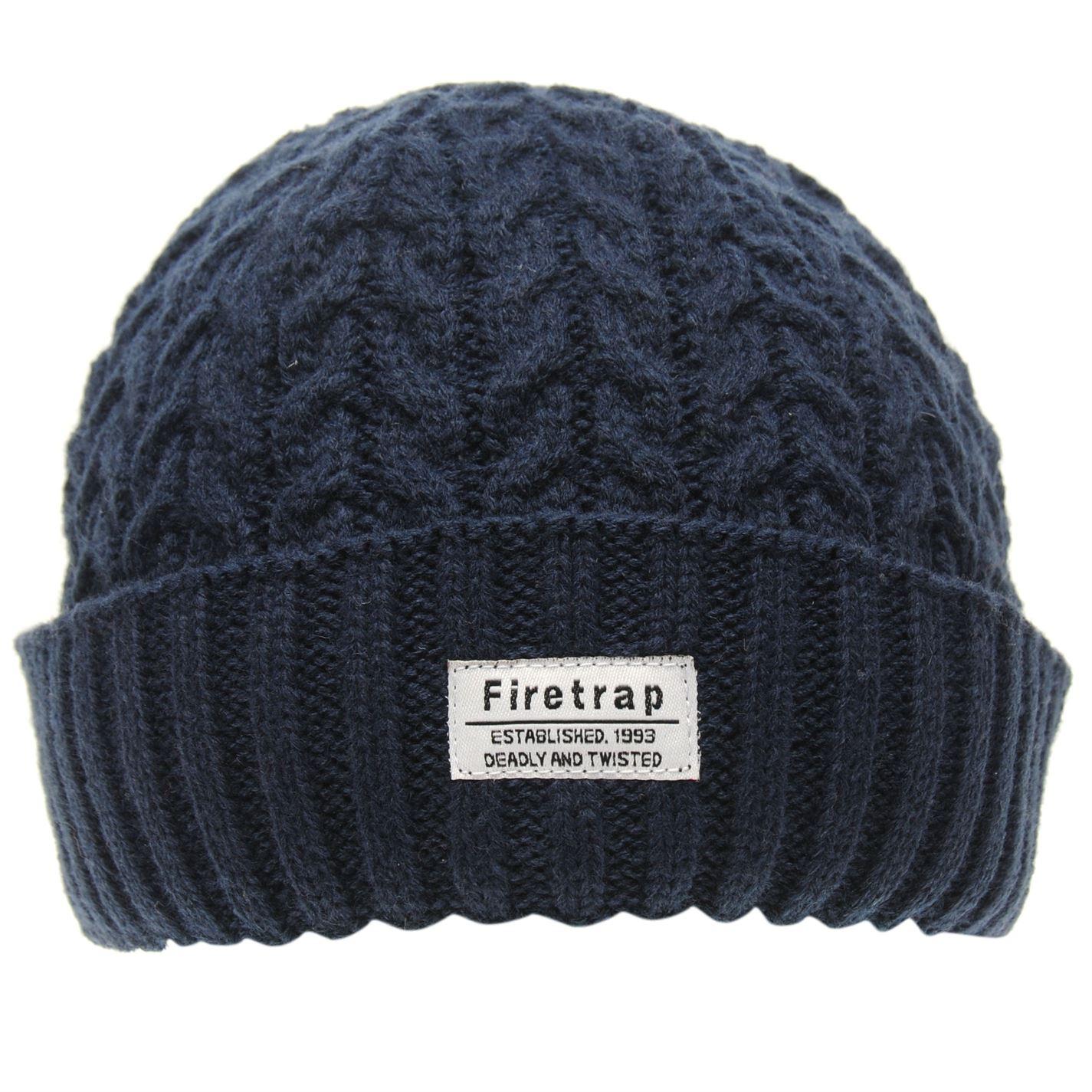 Mens-Firetrap-Fisherman-Hat-Beanie-Warm-New thumbnail 11