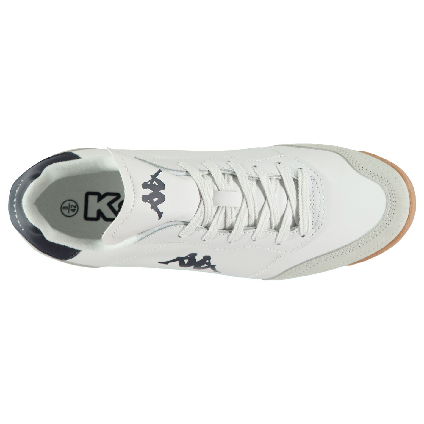 Kappa-Denser-DLX-Sneakers-Mens-Gents-Low-Laces-Fastened-Padded-Ankle-Collar miniatuur 5