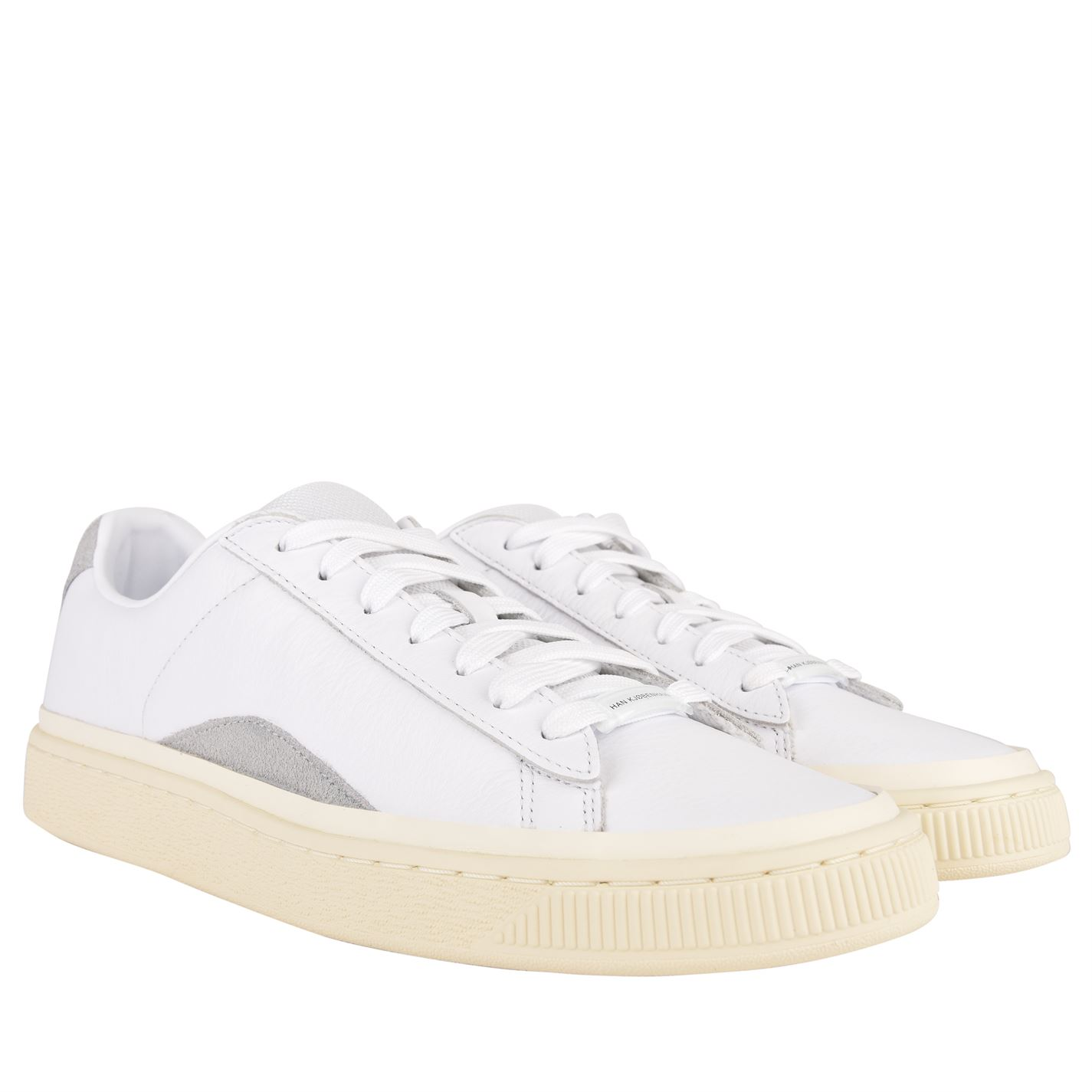 9461eecbdfb089 PUMA X Han Kjobenhavn Mens Low Top Trainers Leather Upper Casual ...