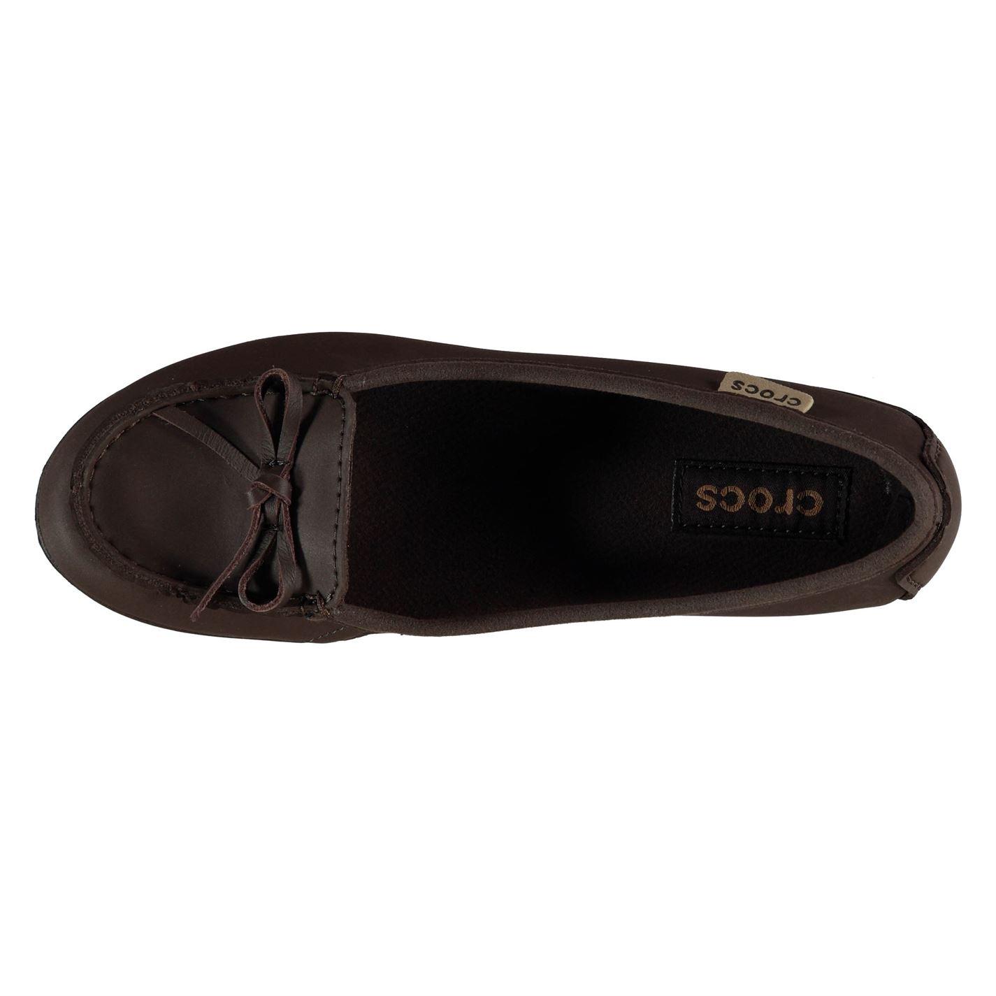 167e8bf67 Crocs Womens Wrap Colorite Ballet Flats Ladies Shoes Slip On Casual ...