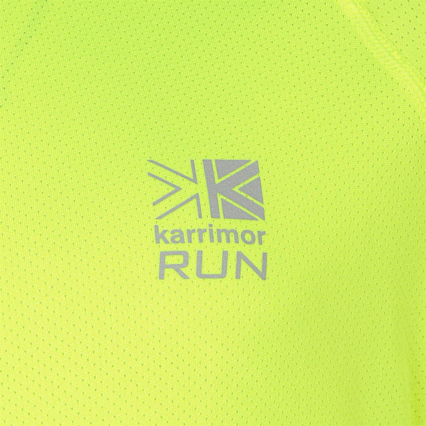 Karrimor-Correr-Mens-X-Cremallera-Camiseta-Camiseta-Top-Transpirable-Ligero-Mentonera miniatura 13