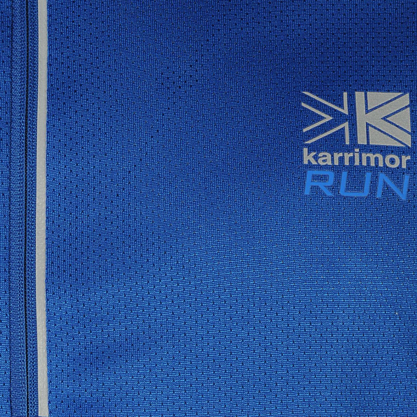 Karrimor-Correr-Mens-X-Cremallera-Camiseta-Camiseta-Top-Transpirable-Ligero-Mentonera miniatura 16