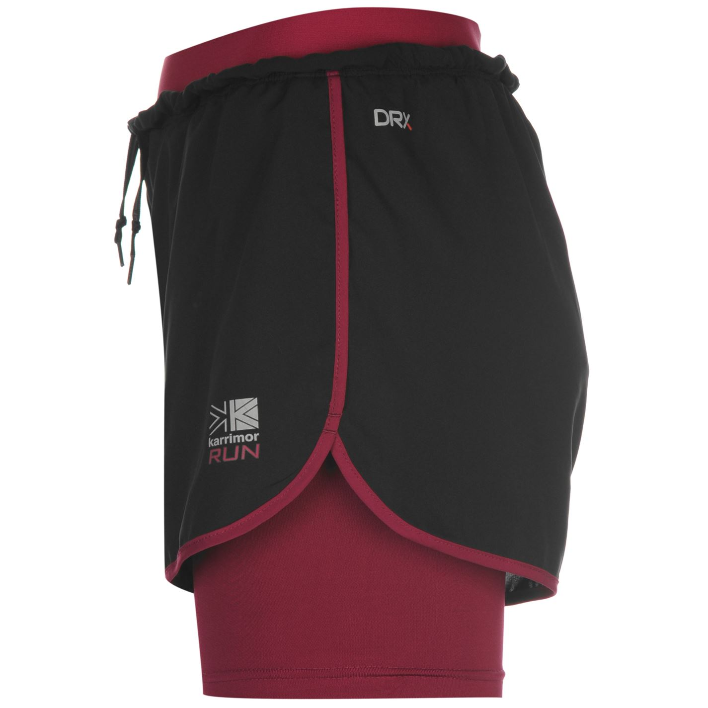 e5bd81ff1 Karrimor Ladies X 2 in 1 Running Shorts Pants Lightweight Drawstring  Clothing | eBay