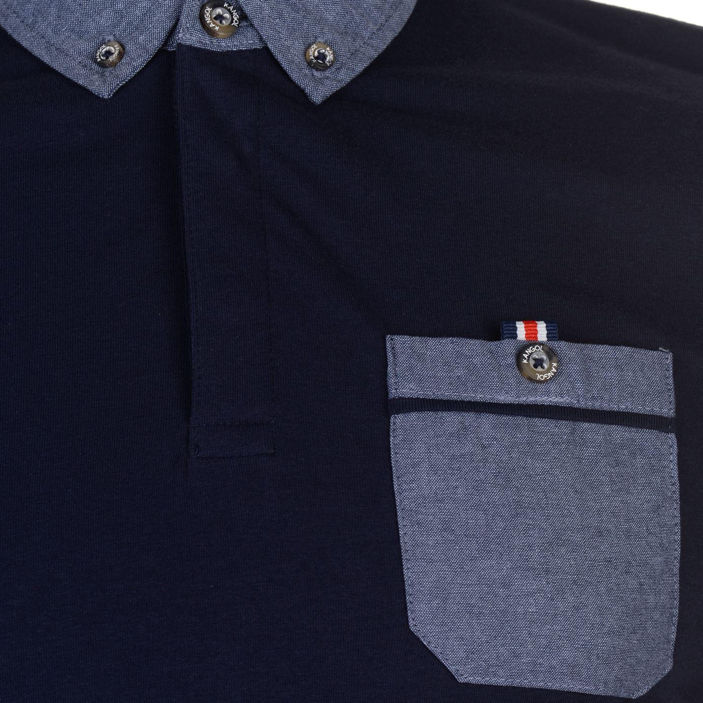 Kangol-Mens-Cham-Short-Sleeve-Polo-Shirt-Classic-Fit-Tee-Top-Lightweight-Colour thumbnail 10
