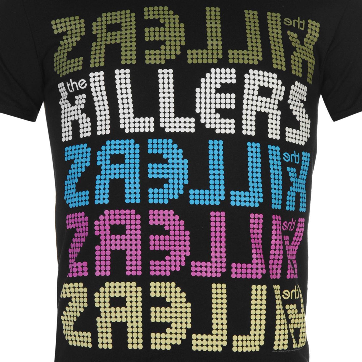 Los-asesinos-Camiseta-Oficial-Para-Hombre-Manga-Corta-Redondo-Informal-Estampado-Camiseta-Top miniatura 5