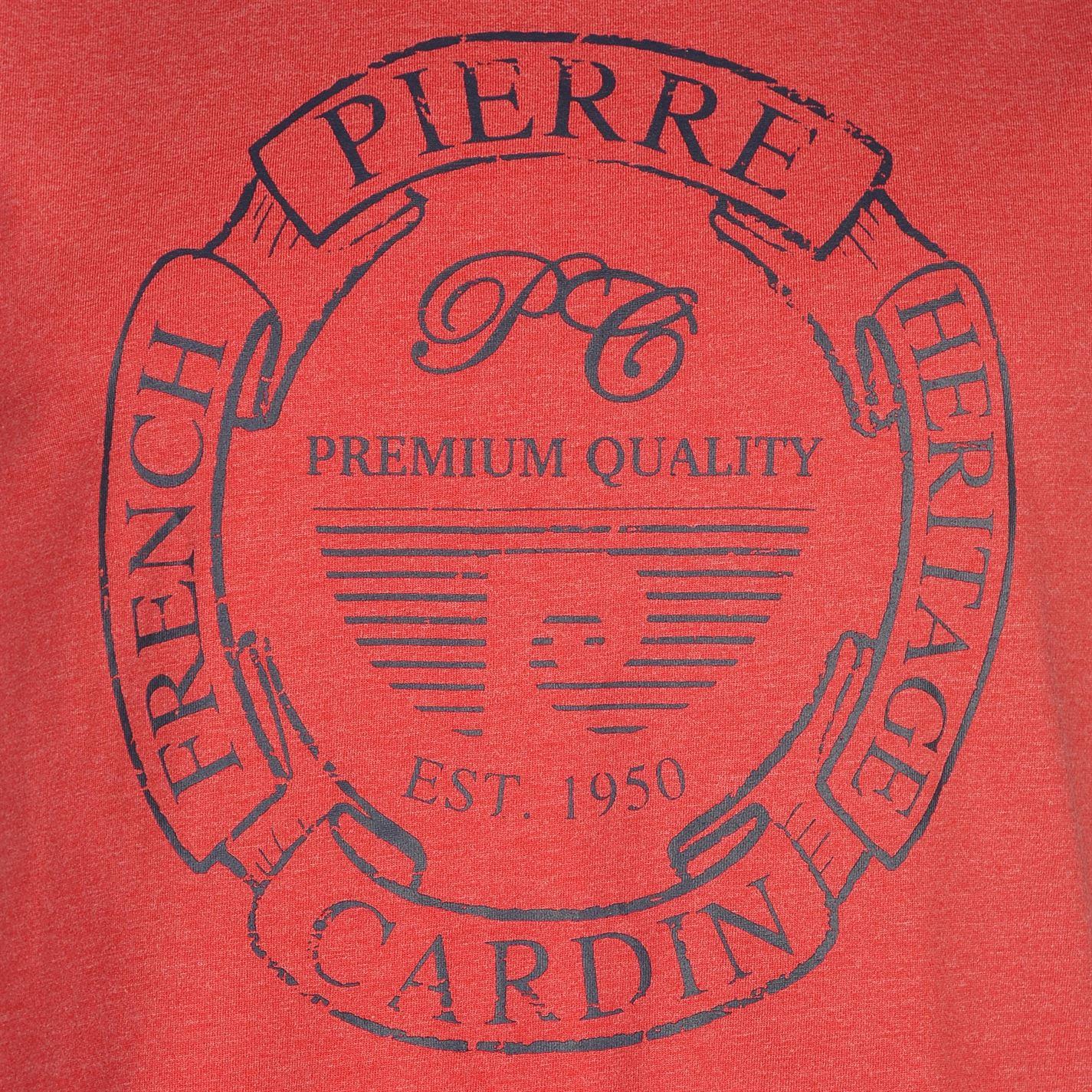 Pierre-Cardin-Uomo-C-Stampa-Senza-Maniche-Canotta-Tank-Top-Girocollo-estate miniatura 18