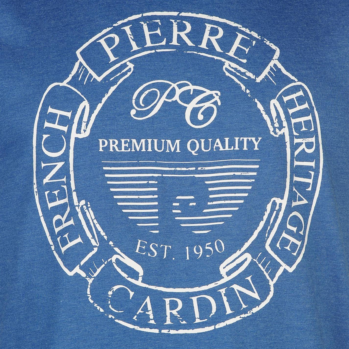 Pierre-Cardin-Uomo-C-Stampa-Senza-Maniche-Canotta-Tank-Top-Girocollo-estate miniatura 21