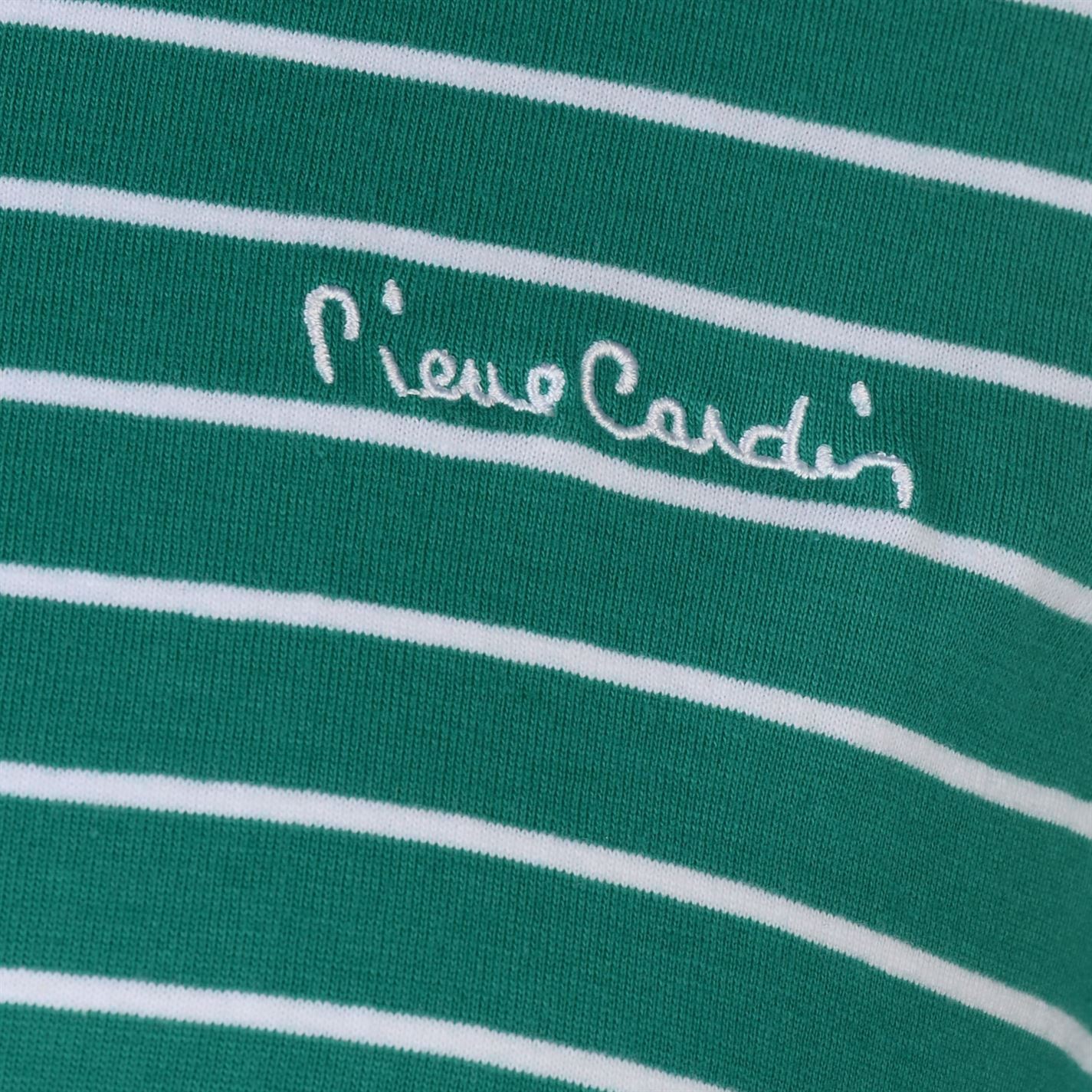 Pierre-Cardin-Mens-Stripe-Ringer-T-Shirt-Crew-Neck-Tee-Top-Short-Sleeve-Cotton thumbnail 13
