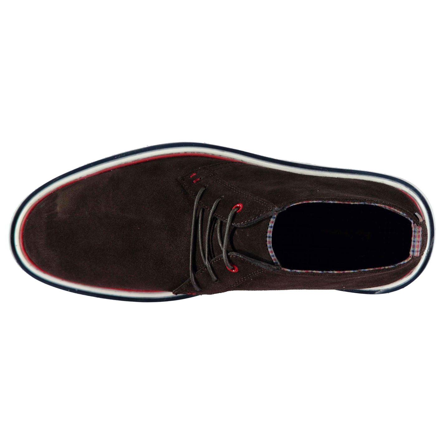 Calzado marrón Ben Gamuza chukka Sherman Cordones Gents Sujetados modernas Mens Botas qHfYxZv