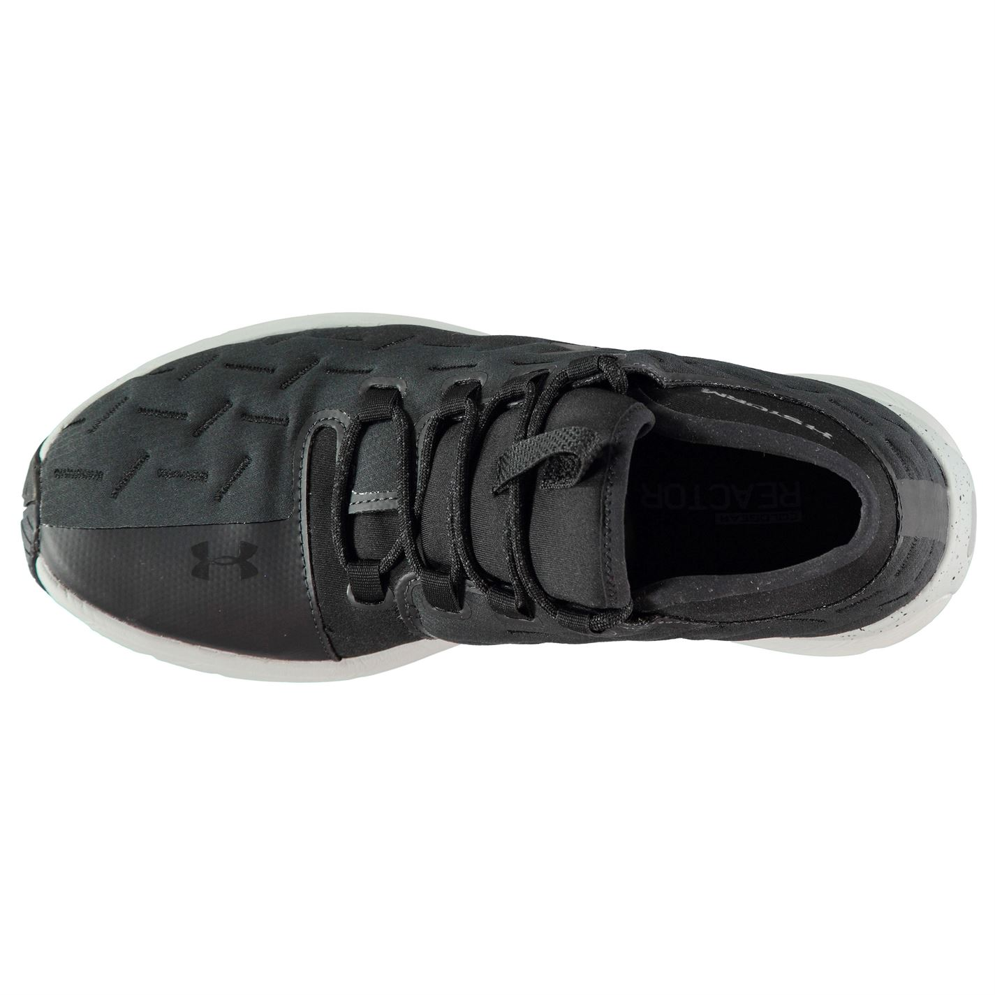Corredores Gents Run Charged Reactor Cordones correr para Zapatos gris Under negro Armour Hombres wT1qUaz