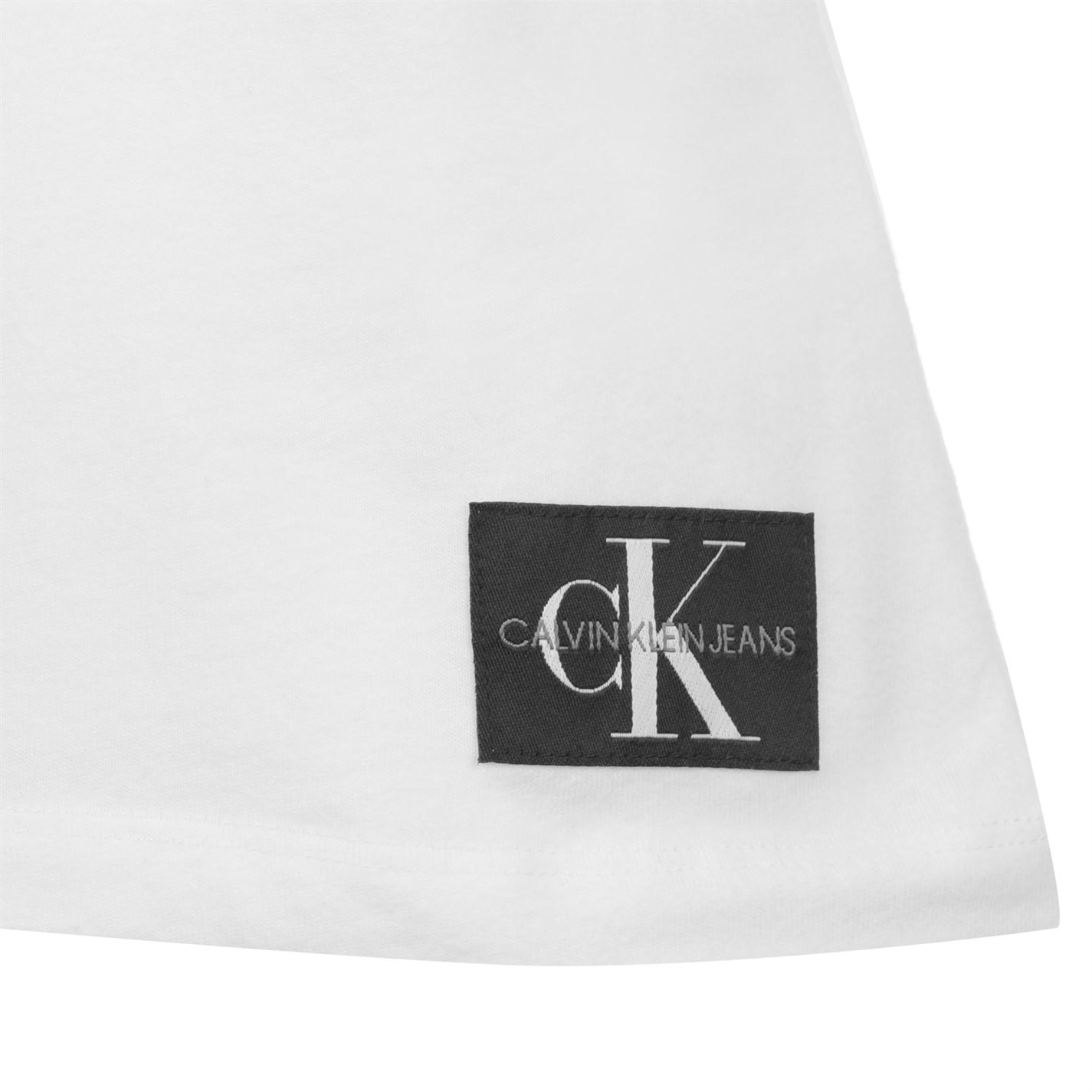 Womens-Calvin-Klein-Core-Slim-T-Shirt-Crew-Neck-Short-Sleeve-New thumbnail 7