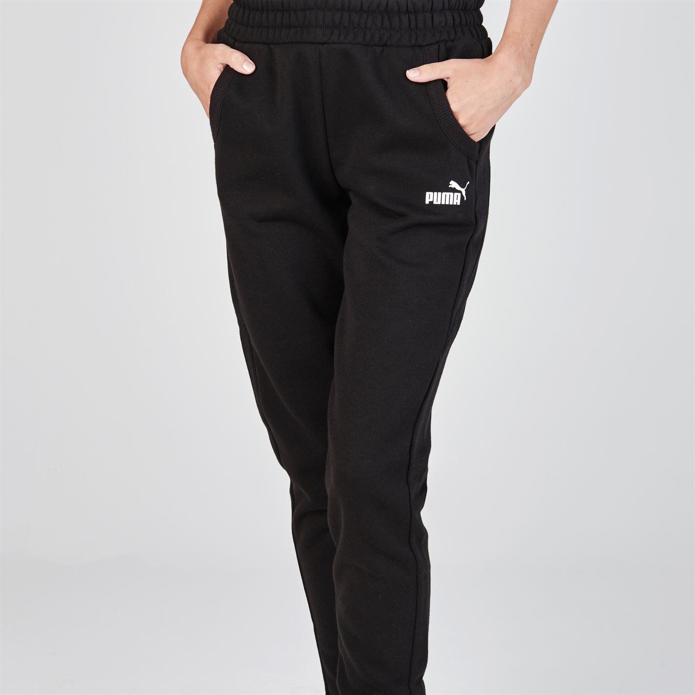 dbfc6a7ddc0c Puma Womens No1 Logo Ladies Jogging Bottoms Tracksuit Pants Trousers ...