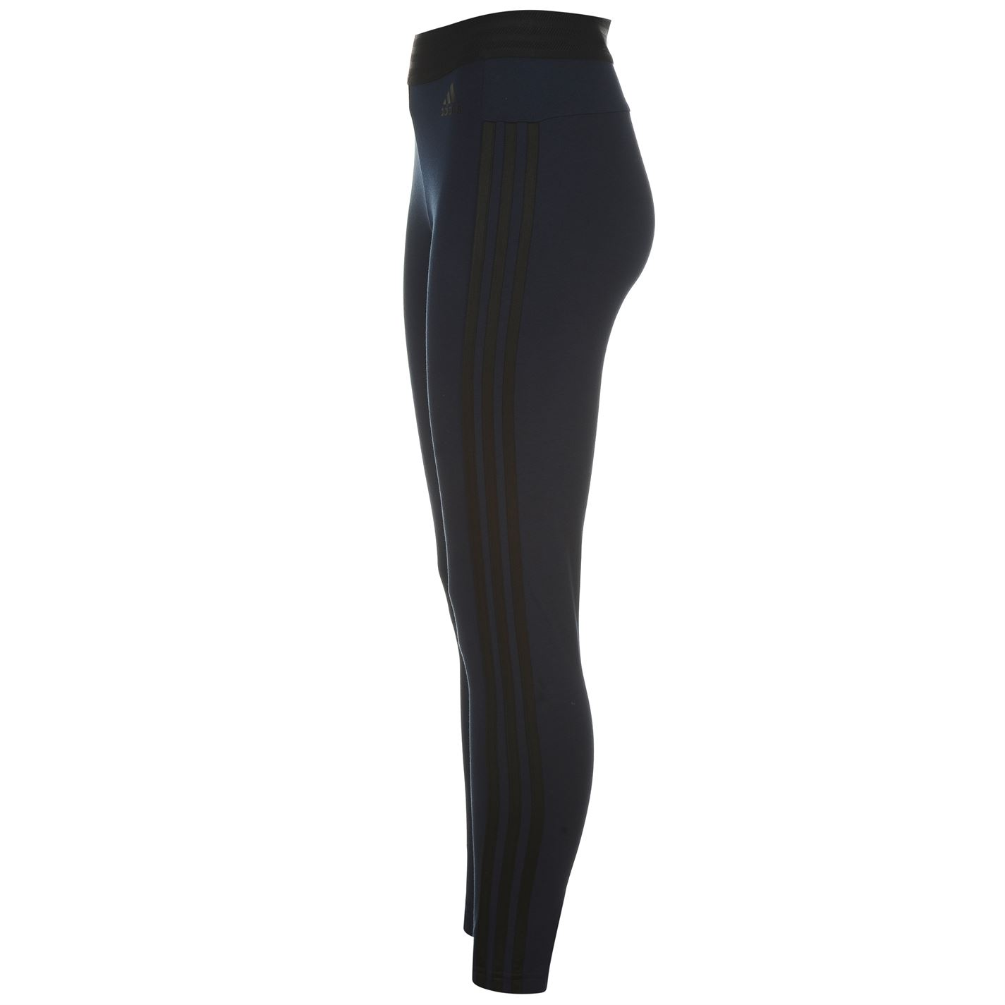 1f03d96d82aca4 adidas Womens Ess 3S Tights Sports Elastic Pants Training Bottoms | eBay