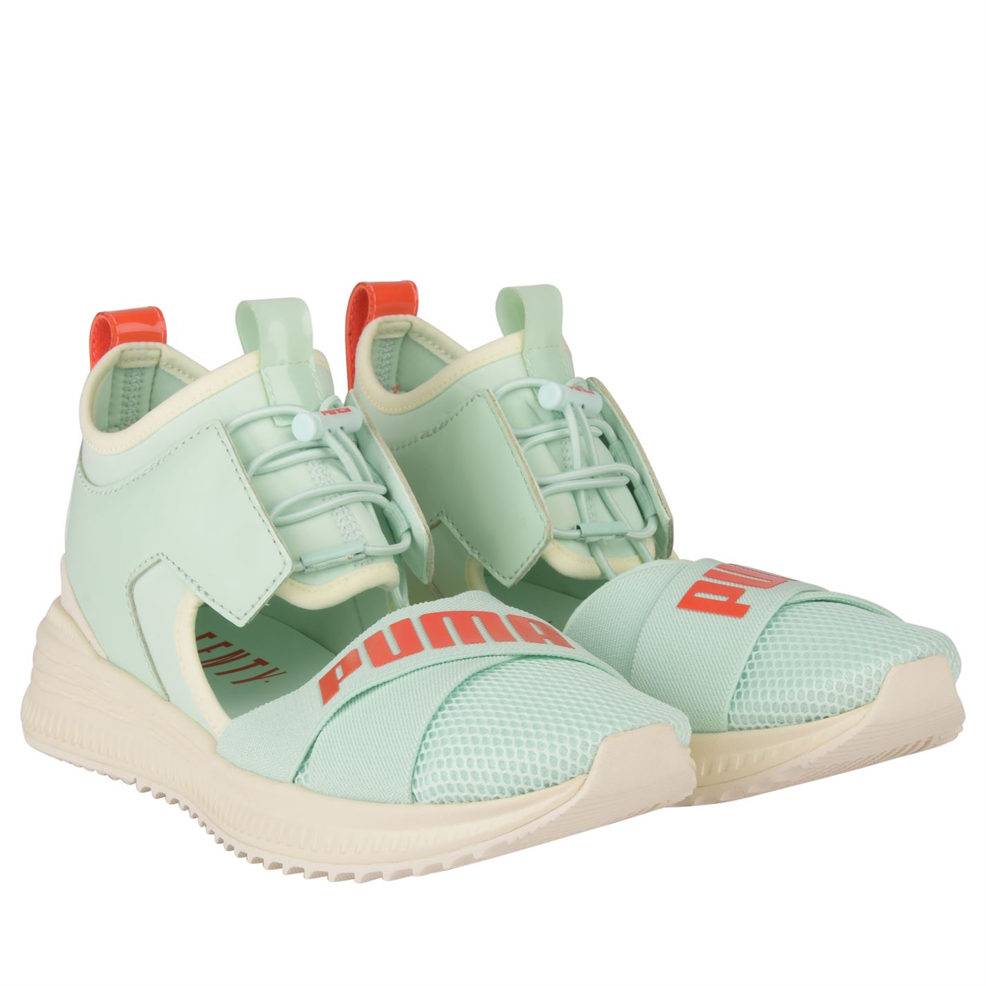 new product 4a495 0a449 Details about Womens FENTY PUMA by Rihanna Trainers Runners Panelled Upper  Mesh New