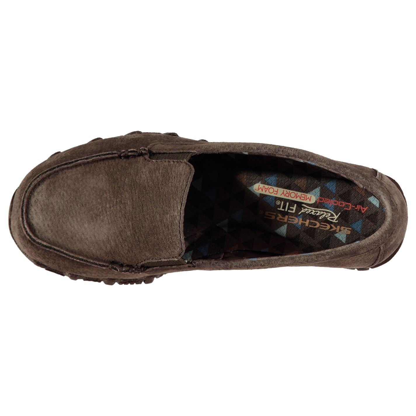 Skechers Skechers Skechers Motardes Roam Chaussures femme tous les jours à enfiler effet vieilli en mousse à mémoire de ton sur ton 48b2be