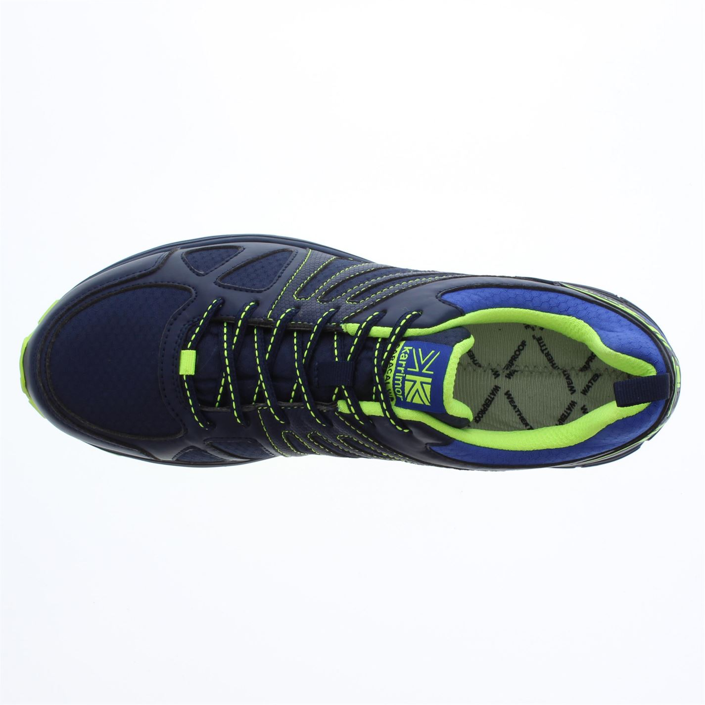 Karrimor-Mens-Caracal-Waterproof-Trail-Running-Shoes-Trainers-Lace-Up-Breathable thumbnail 5