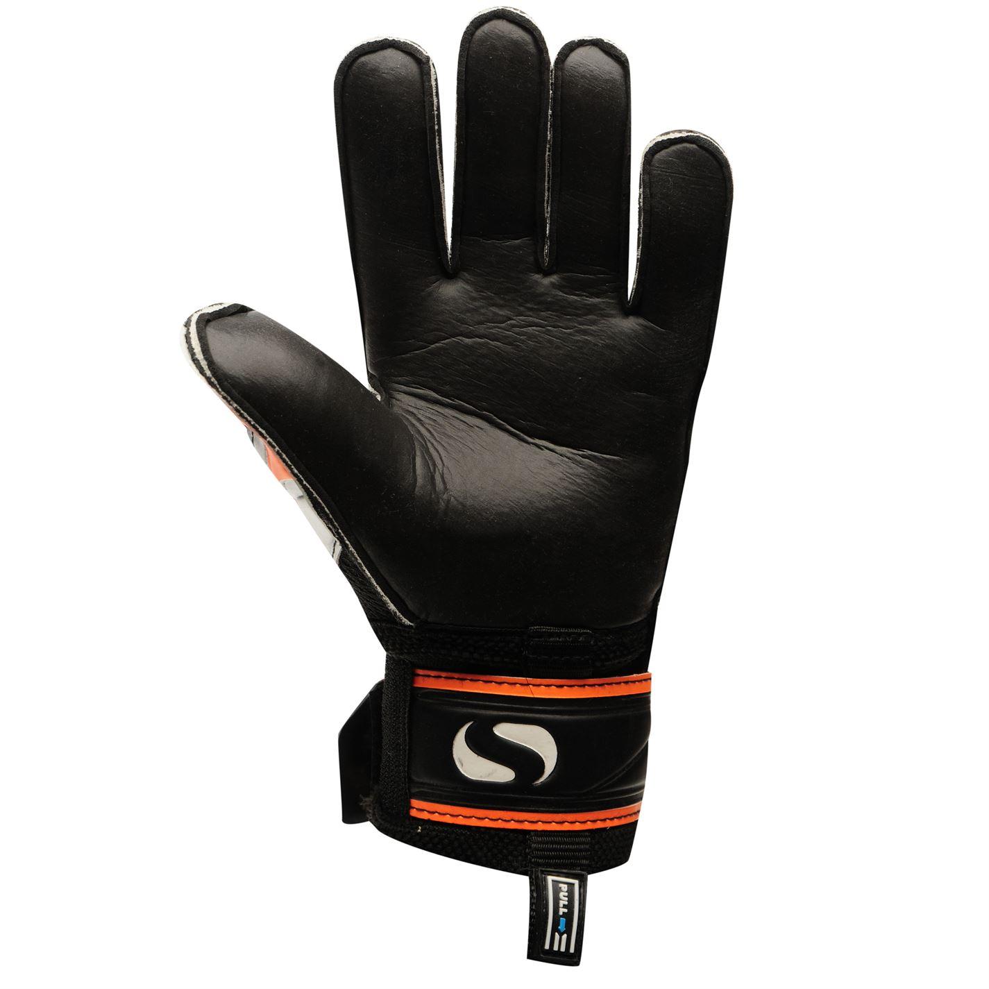 Sondico Mens EliteProtect Goalkeeper Gloves Football Training Sports ... d83671f5670e